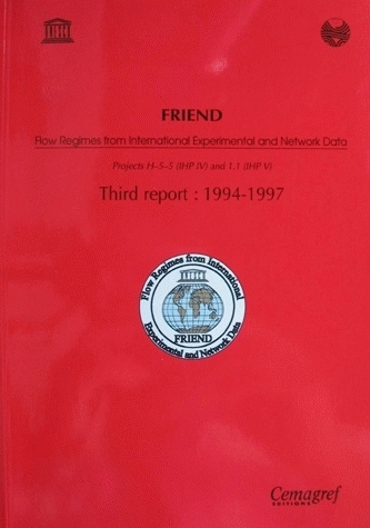 Friend Report Flow Regimes from International experimental and network data -  - Irstea