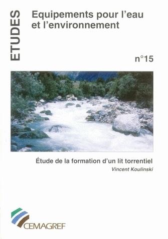 Study of the formation of a torrential bed  - Vincent Koulinski - Irstea