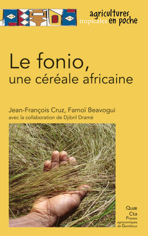 Fonio, an African Cereal - Jean-François Cruz, Famoï Béavogui - Éditions Quae