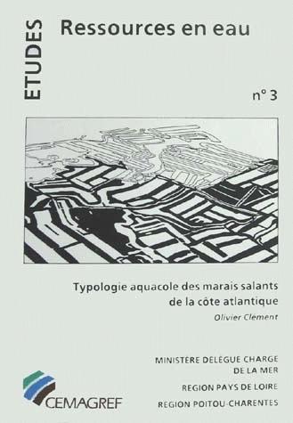 Aquaculture typology of salt marshes on the Atlantic coast - Olivier Clément - Irstea