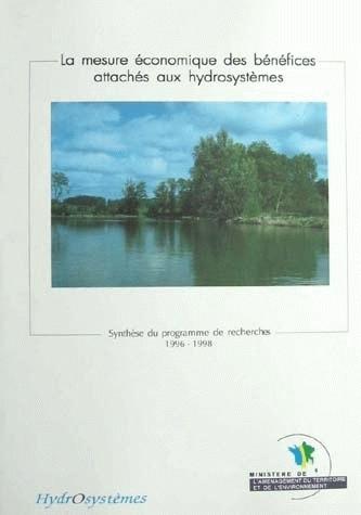 Measuring the economic benefits of hydrosystems  -  - Irstea