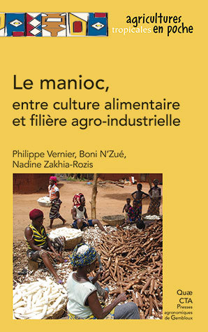 Cassava, from food crop to agribusiness - Philippe Vernier, Boni N'Zué, Nadine Zakhia-Rozis - Éditions Quae